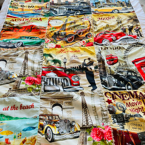 Travel the World Comforter