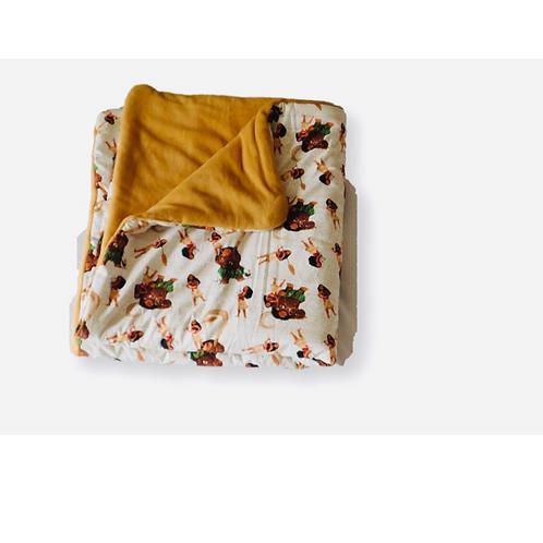 Toddler Moana Blanket