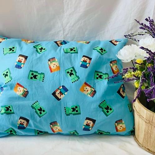 Minecraft Toddler Pillow