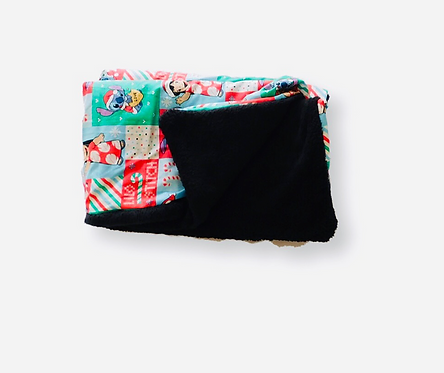 Lilo Christmas Toddler Blanket