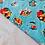 Thumbnail: Toddler Mermaid throw blanket