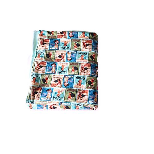 Blue Moana Toddler Blanket Set