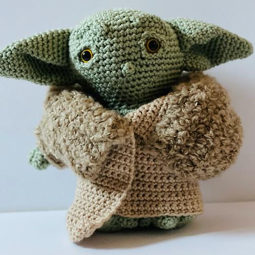 Yoda Baby Crochet doll