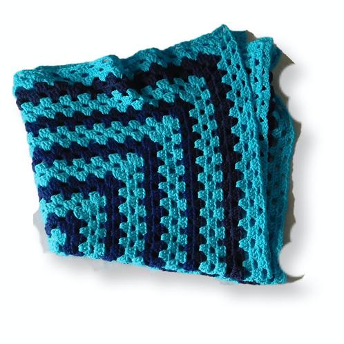 Baby Dark Moon Crochet Blanket