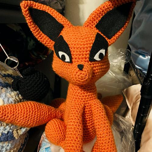 Kurama Fox Crochet Doll