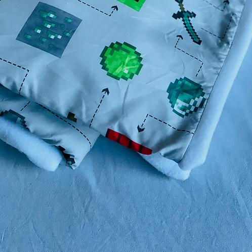 Minecraft Throw Blanket