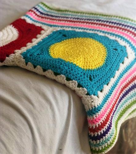 Paint Crochet Blanket