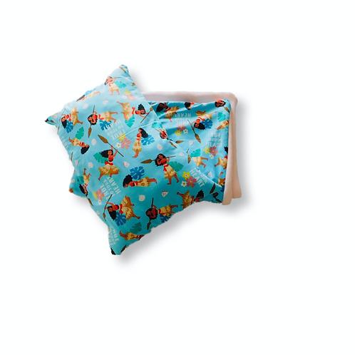 Toddler Moana Light Blue Blanket