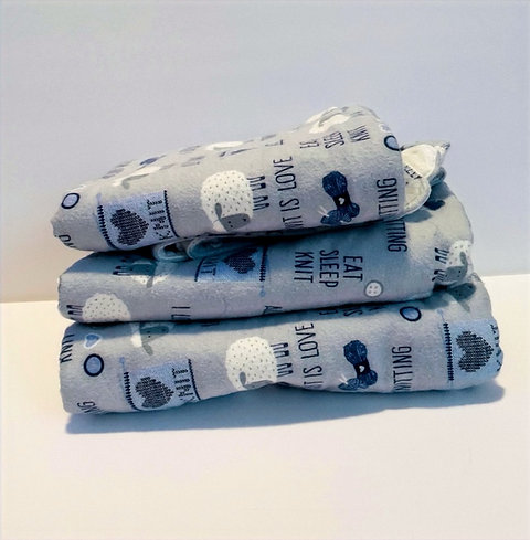 Baum All You Knit Is Love Baby Blanket Set