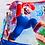 Thumbnail: Mario throw blanket