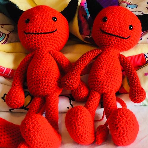 Heathen Crochet Doll
