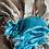 Thumbnail: Caribbean Blues Satin Bonnet