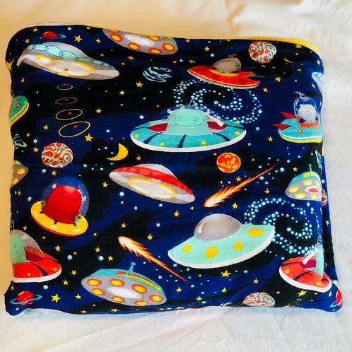 Alien Invasion Toddler Throw Blanket