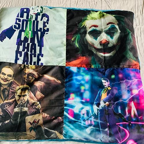 Small Joker Throw Blanket