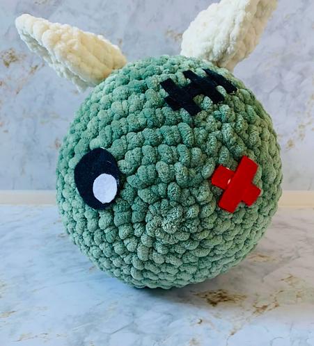 Zombie Bee Crochet Doll