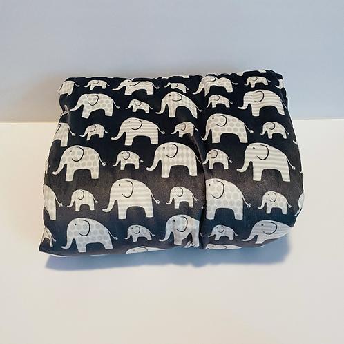 Chan Elephant Baby Blanket