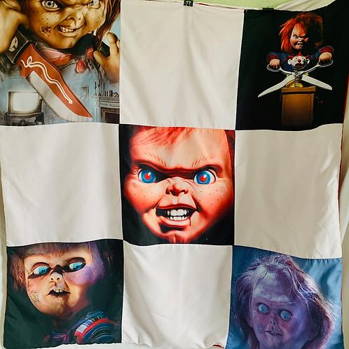 Small Chucky Throw Blanket
