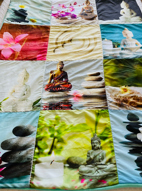 Mediation Throw Blanket