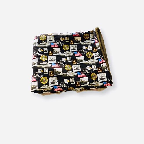 U.S. Army Throw Blanket Set
