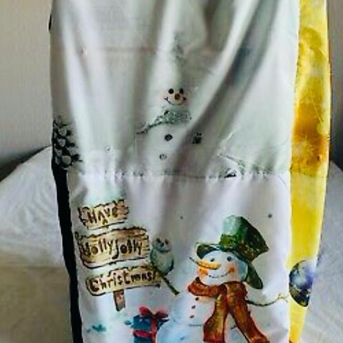 Santa Clause Snowman Stuffing Bag