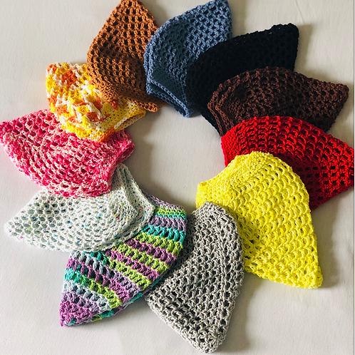Crocheted Classic Netted Hair Snood / Hairnet