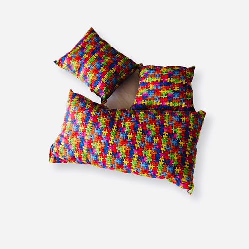 Toddler Puzzle Puzzle Pillow