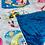 Thumbnail: Blue Fleece Pony Throw Blanket