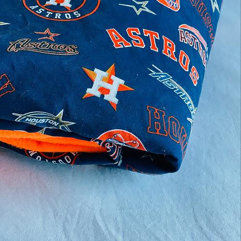 Houston Astros Throw Blanket