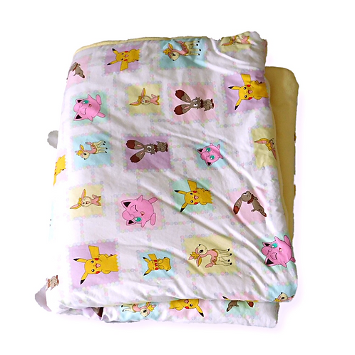 "Toddler ""Pikachu"" Blanket"