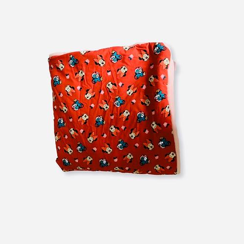 Baby/ Toddler Red Minnie Blanket
