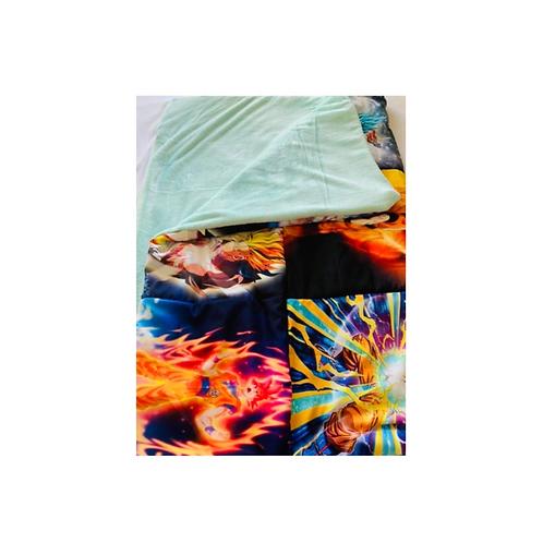 Dragon Ball Z throw blanket