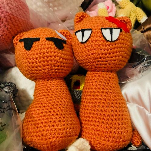Cats Crochet Dolls