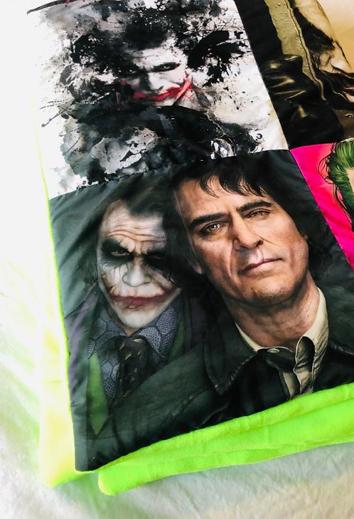 Joker G. Fleece Throw Blanket