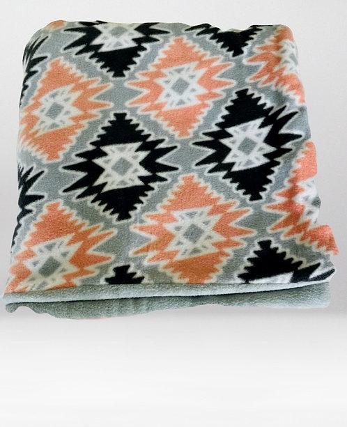 Fleece Pattern Toddler Throw Blanket