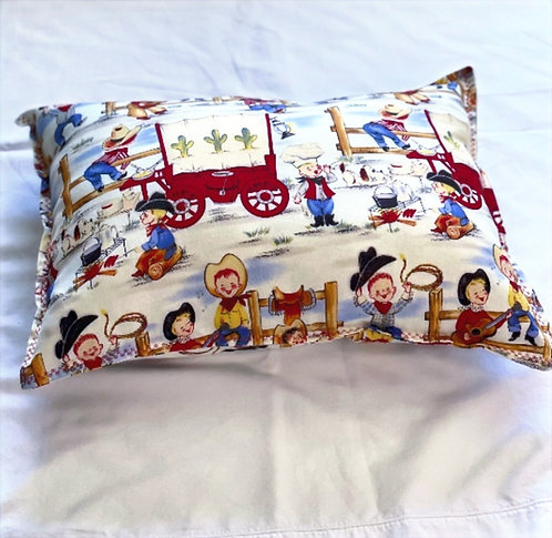 Toddler Western Pillow