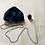 Thumbnail: Blue Crochet Beanie w/ scarf
