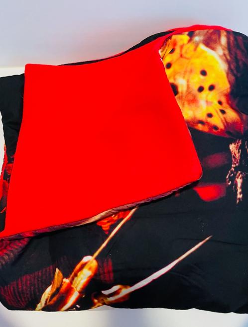 Freddy vs. Jason Throw Blanket
