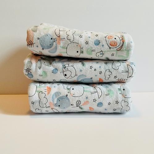 Fobre Forest Friends Baby Blanket Set
