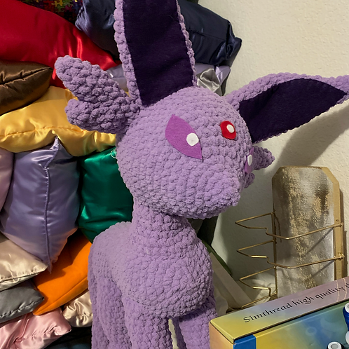 Espeon Crochet Doll