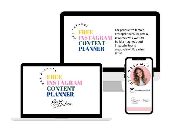 Copy of Free IG Content Planner By Jessi