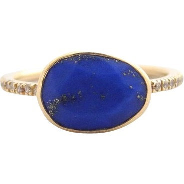 Lapis and Diamond Clea Ring
