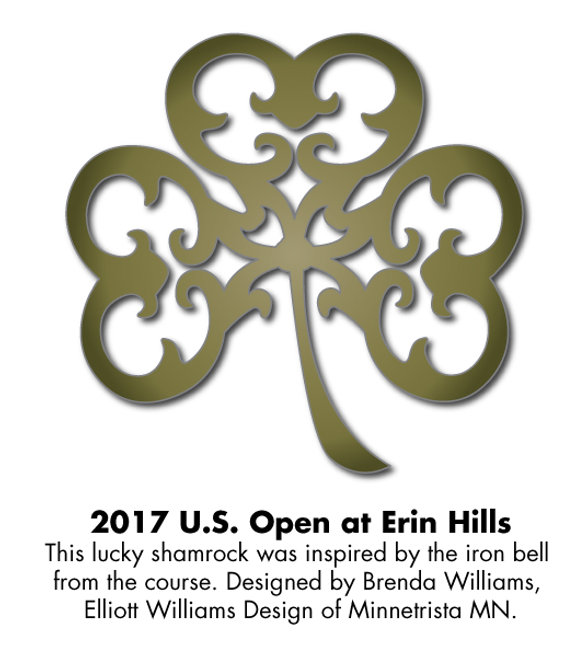 Logo for the 2017 US Open at Erin Hills, Designed by Brenda Williams