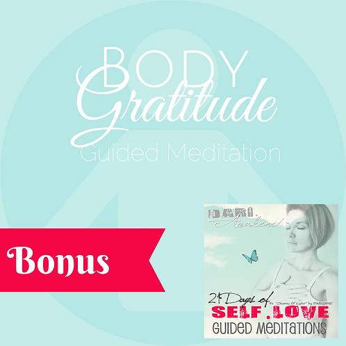 """Body Gratitude"" Guided Meditation 20 mins"