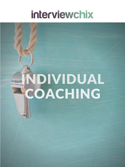 Interview Coaching - Individual 1 Hour