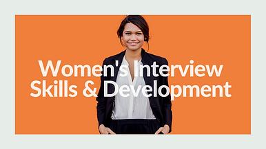 Women's Interview Skills & Develpment - The Interview Chix