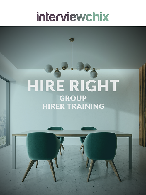 HIRE RIGHT for BUSINES Interview Skills Group Training