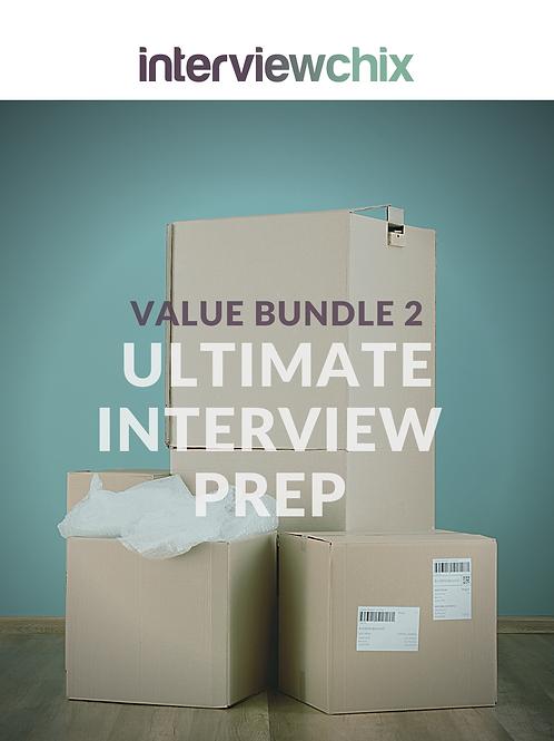 Value Bundle 2 - Ultimate Interview Prep 22% Discount