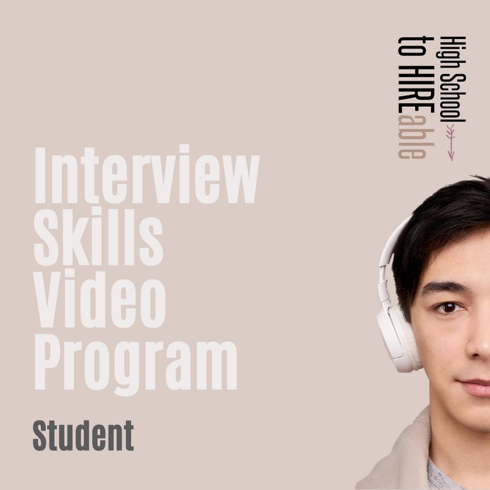 Interview Skills Video Program | Students | $49.00 Incl GST