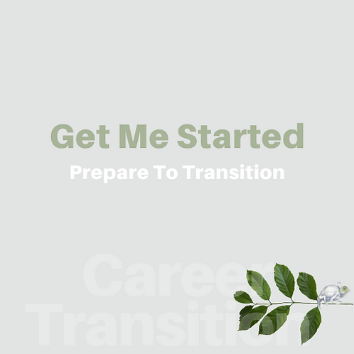 Career Transition-Get Me Started | Interview Workbk + Resume Review 50%+ Saving
