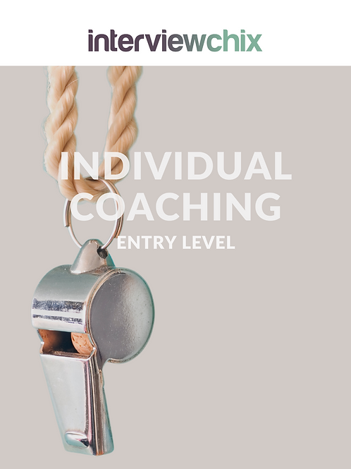 Entry Level - Individual Coaching 1 Hour